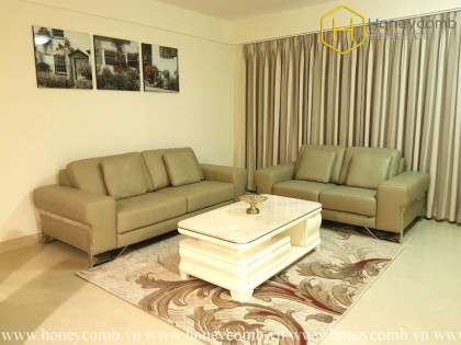 Look at this !! What a nice 3 bedrooms-apartment in Masteri thao Dien