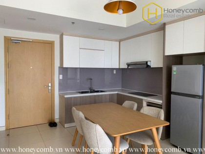 Look at this !! What a cozy 1 bedroom-apartment in Masteri Thao Dien
