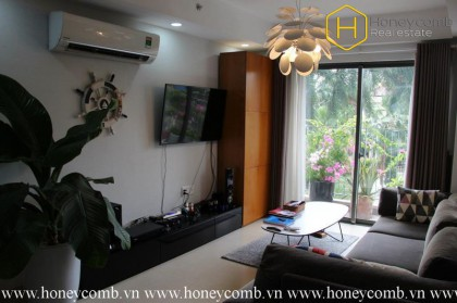 Live at the 4 bedrooms-apartment of modern conveniences & entertainment in Masteri Thao Dien