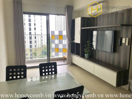 The new 2 bedrooms- apartment for leasing in Masteri Thao Dien