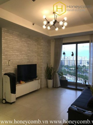 How do you feel about this delicate 2 bedrooms-apartment in Masteri Thao Dien ?