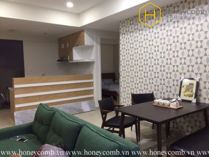 This 3 bedrooms-apartment will give you warmth and convenience in Masteri Thao Dien