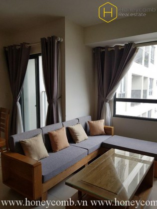 The 2-bedroom apartment with traditonal style in Masteri Thao Dien