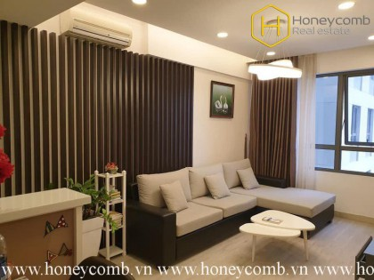How do you feel about this wonderfull 2 bedrooms- apartment in Masteri Thao Dien ?