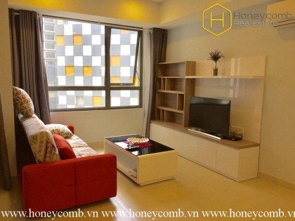 This colorful 2 bedrooms-apartment is very hot in Masteri Thao Dien