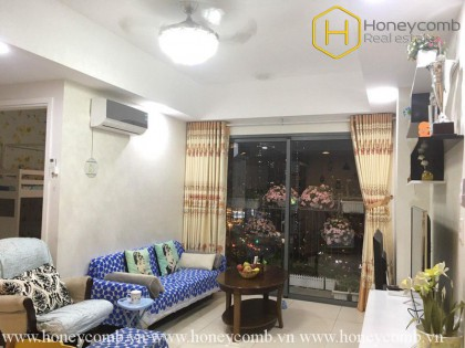 The 2 bedrooms-apartment with freestyle decoration in Masteri Thao Dien