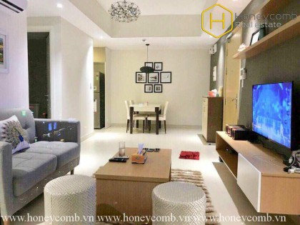 Experience new lifestyle with this 2 bedrooms-apartment in Masteri Thao Dien