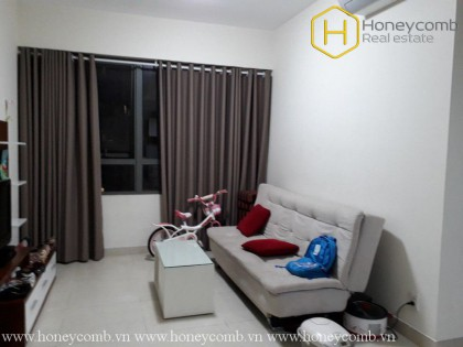 The 1 bedroom-apartment is new and cozy in Masteri Thao Dien