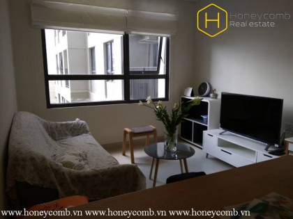 Awesome !!! The cozy 1 bedroom-apartment for lease is still available in Masteri Thao Dien