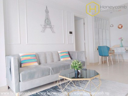 What a bright and featured 2 bedroom-apartment from Masteri Thao Dien !