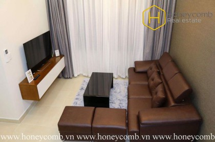 Beautiful 2 beds apartment with the modern kitchen in Masteri for rent