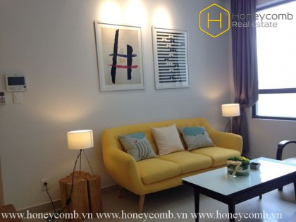 Wonderful 1 bedrooms apartment with high floor in Masteri for rent