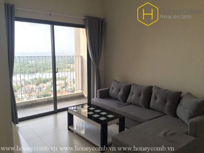 Three bedroom apartment with high floor for rent in Masteri Thao Dien, District 2