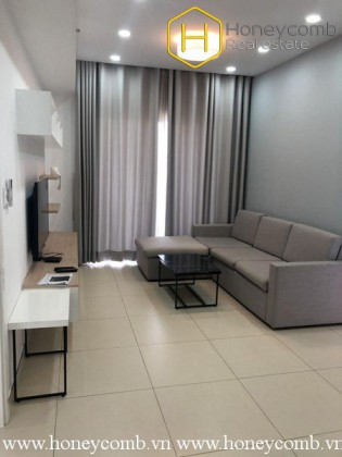 Low floor two bedroom apartment with new furniture in Masteri for rent