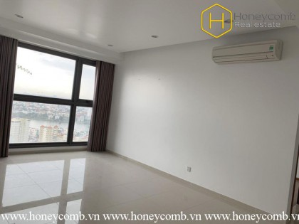 The spacious 2 bedroom-apartment with no furniture is still available at Pearl Plaza