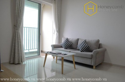 The 2 bedrooms-apartment with minimalism style for lease in Vista Verde