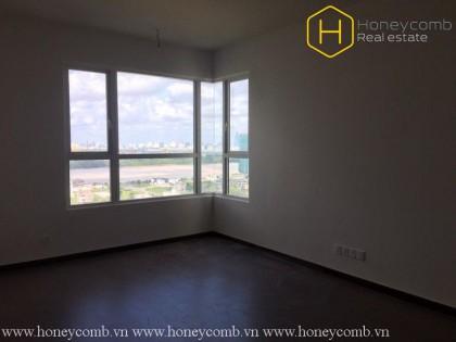 Căn hộ 4 phòng ngủ không nội thất cực kì rộng rãi cho thuê tại Vista Verde