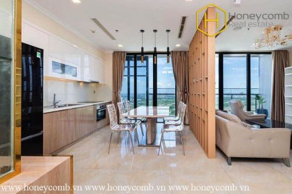 The perfect 3 bedroom-apartment with scarce and special view from Vinhomes Golden River