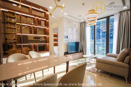 This stunning 2 bedrooms-apartment is all within your reach in Vinhomes Golden River