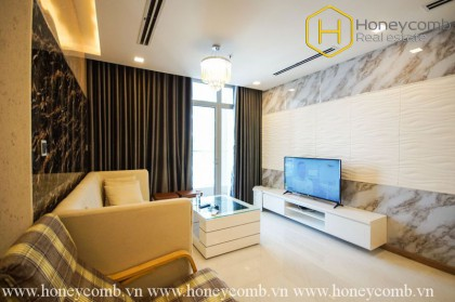 The 3 bedrooms-apartment with contemporary decoration in Vinhomes Central Park
