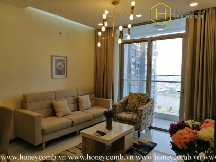 Experience great lifestyle with this 1 bedrooms-apartment in Vinhomes Central Park