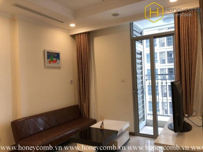 This 1 bedroom-apartment with proper design and reasonable price in Vinhomes Central Park
