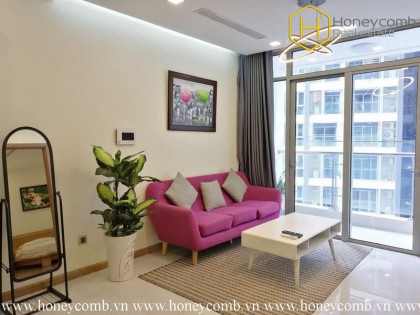 You will be impressive by this attractive 1 bedroom-apartment in Vinhomes Central Park