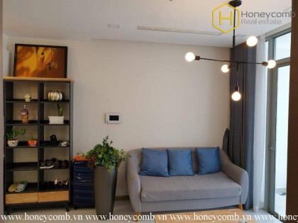 Are you seeking a fresh 1 bedroom-apartment in Vinhomes Central Park ?