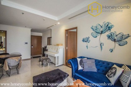 Hurry up !! This 3 bedroom-apartment with Swedish style is available at Vinhomes Central Park