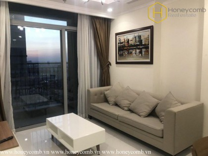 The 2 bedroom-apartment with fresh and natural style in Vinhomes
