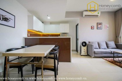 Two beds apartment with luxury in Masteri Thao Dien for rent