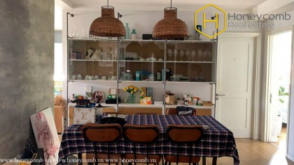 Widen Space with 3 bedrooms apartment in River Garden for rent