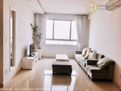 Modern decorated with 2 bedrooms apartment in Tropic Garden for rent