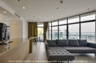 Symbol of elegance - High-class apartment located in City Garden for lease