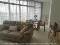 Feel the elegance of this apartment with neat design in City Garden