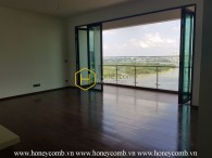 Unfurnished apartment with stunning river view in D'edge