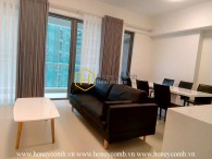 Spacious 2 bedrooms apartment with new furniture in The Gateway Thao Dien