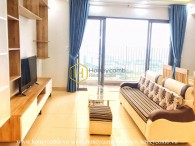 Enjoy your modern life with this supremely perfect 3 bedrooms-apartment in Masteri