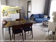 Wonderful 2 bedroom apartment with open kitchen in Masteri Thao Dien
