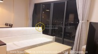 Contemporary style apartment with dominant white color in Masteri Thao Dien for lease