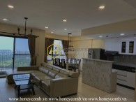Linkble apartment in Masteri Thao Dien with 4 bedrooms and river view for rent