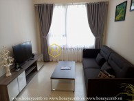 One bedroom apartment at high floor in Masteri Thao Dien for rent