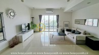 The 3 bedroom-apartment is very elegant and impressive at River Garden