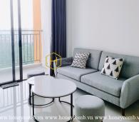 Căn hộ The Sun Avenue đầy thu hút với nội thất phong cách tối giản và bố cục khéo léo