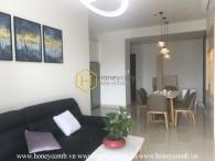 Một căn hộ tuyệt vời ở The Sun Avenue với nội thất tinh tế và bố cục màu sắc trầm ấm