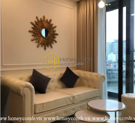 Enchanting and impressive architecture of 2 beds apartment in Vinhomes Golden River