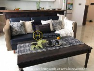 Life just got better with this fully functional apartment in Vinhomes Golden River for rent