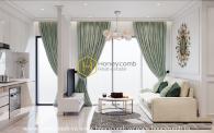 Scandinavian designed apartment with enchanting panaromic city view in Vinhomes Golden River