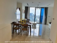 Gorgerous apartment with simple but elegant interiors for rent in Vinhomes Golden River