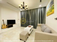 A perfect interfusion between neat decoration and warm light in Vinhomes Golden River apartment